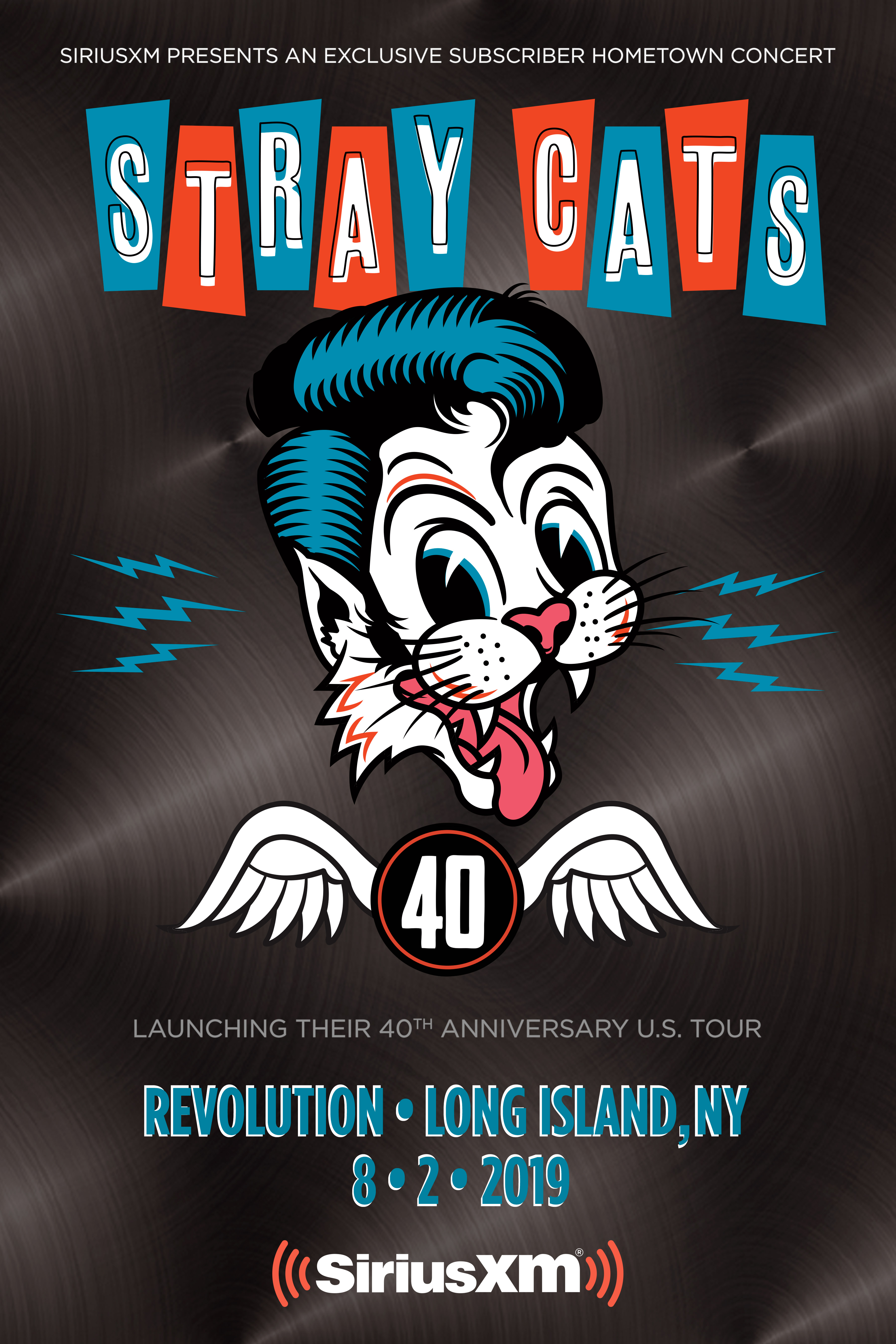 SIRIUSXM PRESENTS A HOMETOWN CONCERT WITH THE STRAY CATS ON